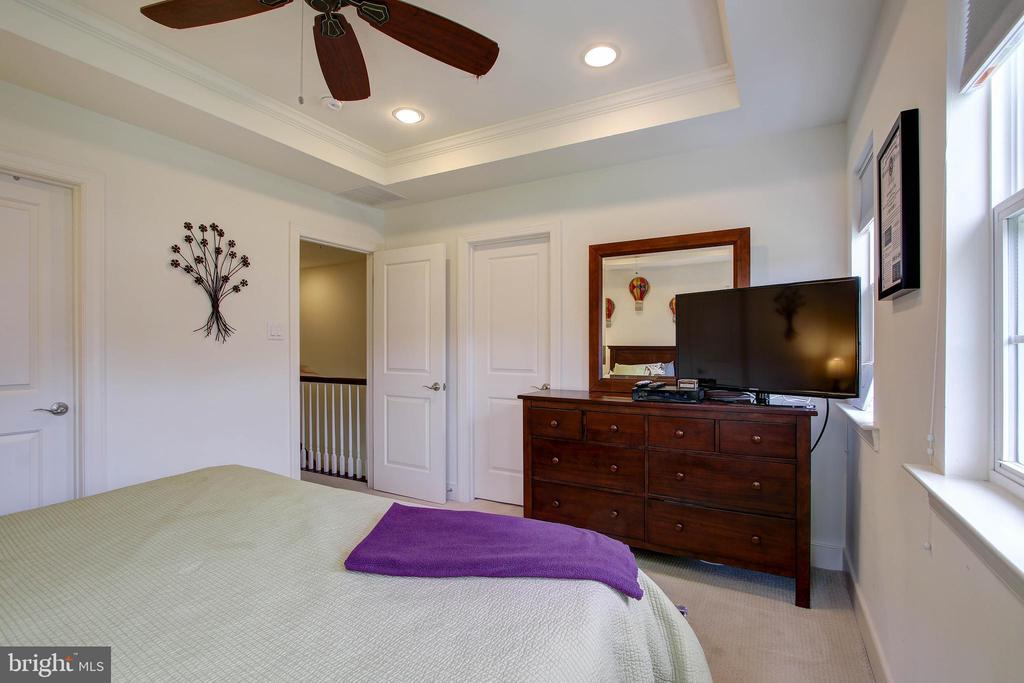 Master Bedroom with tray ceilings - 742 COBBLER PL, GAITHERSBURG