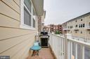 Back Balcony - 742 COBBLER PL, GAITHERSBURG