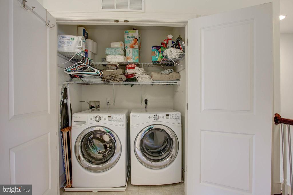 Laundry Room on Bedroom Level - 742 COBBLER PL, GAITHERSBURG