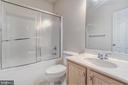 Full Bath in Lower Level - 3204 MCCLELLAN DR, FREDERICKSBURG