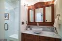 Full bathroom on the main level - 1511 16TH ST NW, WASHINGTON