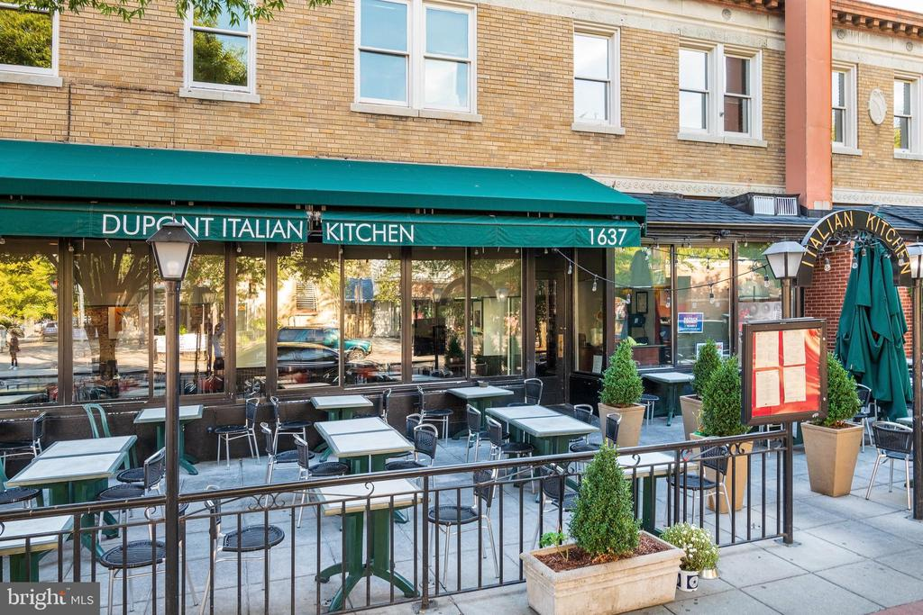 Dupont Italian Kitchen - 1511 16TH ST NW, WASHINGTON