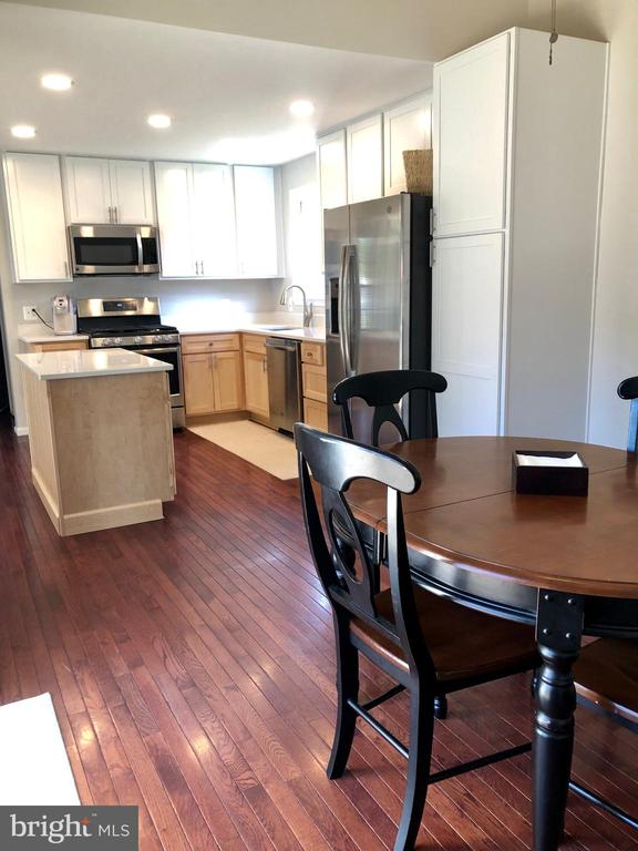 Dining Area with Hardwood Floors - 9505 COUNTRY ROADS LN, MANASSAS