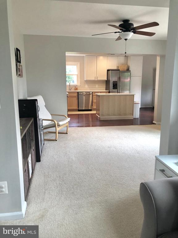 View from Living Room to Kitchen - 9505 COUNTRY ROADS LN, MANASSAS