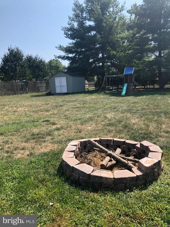 Storage Shed, Swing Set and Firepit - 9505 COUNTRY ROADS LN, MANASSAS