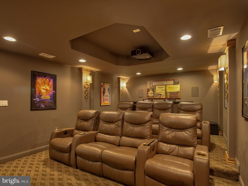Lower Level Movie Room - 23429 ROUNDUP PL, ALDIE
