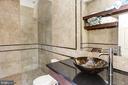 Cabana bath - 7115 WOLF DEN RD, FAIRFAX STATION