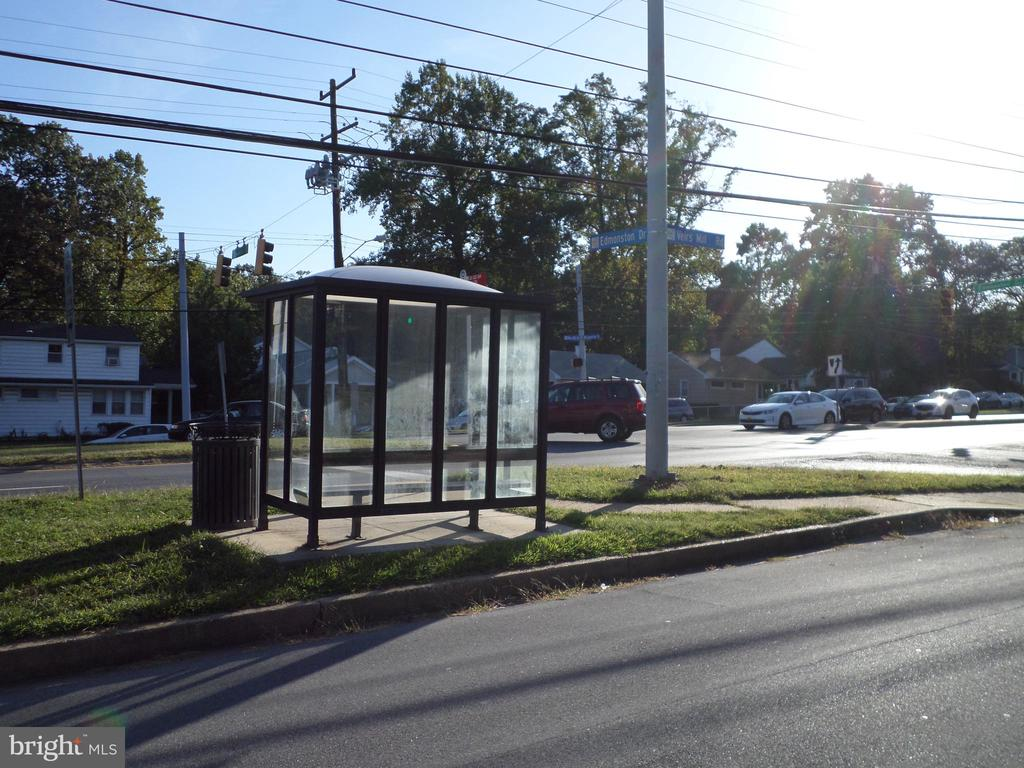 Bus stop across the service road - 1102 VEIRS MILL RD, ROCKVILLE