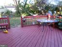 Spacious deck - 1102 VEIRS MILL RD, ROCKVILLE