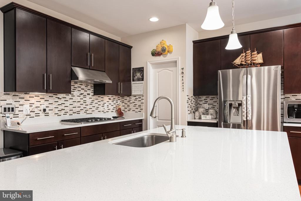 good view of the Kitchen - 22849 EMERALD CHASE PL, ASHBURN