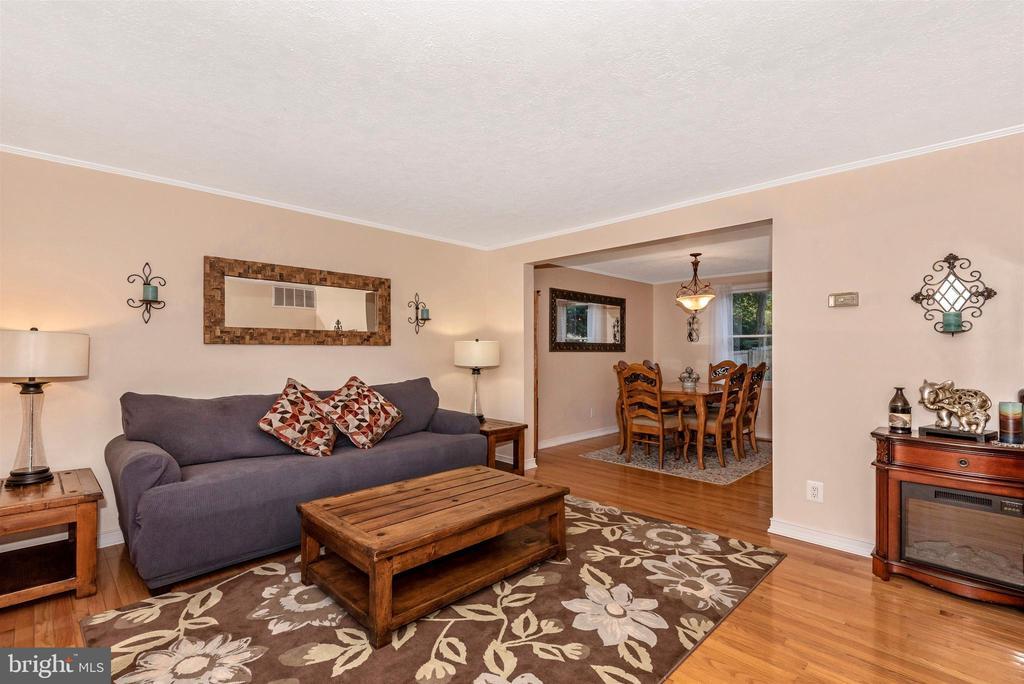 Living Room View 1 - 8216 LANGPORT TER, GAITHERSBURG