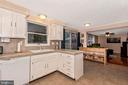 Kitchen View 1 - 8216 LANGPORT TER, GAITHERSBURG