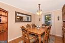 Dining Room - 8216 LANGPORT TER, GAITHERSBURG