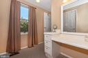 Master Bathroom Built-In Vanity - 8216 LANGPORT TER, GAITHERSBURG