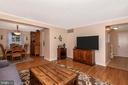 Living Room View 3 - 8216 LANGPORT TER, GAITHERSBURG
