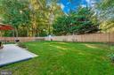 Backyard - 8216 LANGPORT TER, GAITHERSBURG