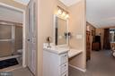 Master Bath/Vanity - 8216 LANGPORT TER, GAITHERSBURG