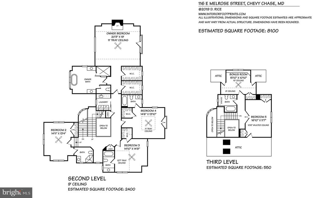 Nearly 12,000 sq. ft. lot. - 116 E MELROSE ST, CHEVY CHASE