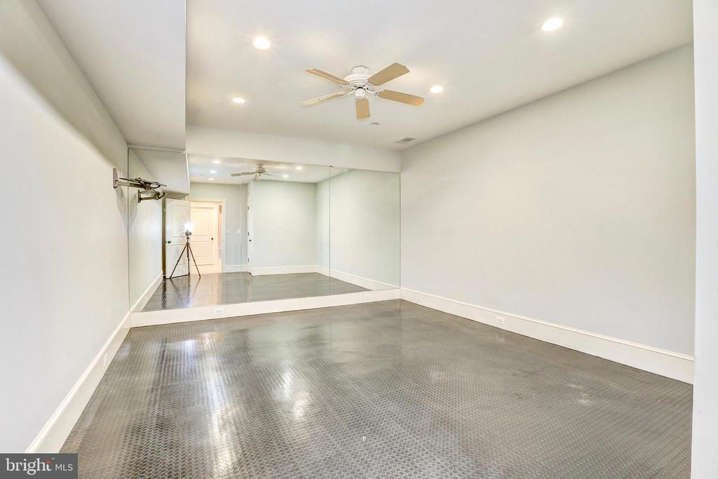 Bedroom #6 converted to fitness room. - 116 E MELROSE ST, CHEVY CHASE