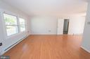 Enjoy lots of. natural light through out - 203 W HANOVER PL, STERLING