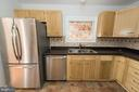 Plenty of room for all your food in this fridge - 203 W HANOVER PL, STERLING