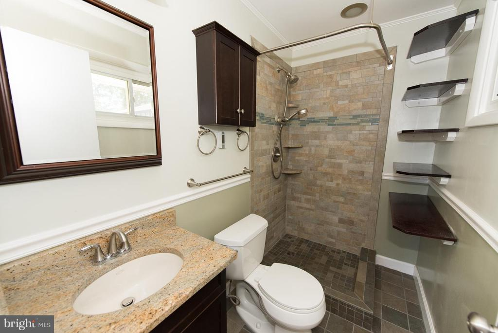 Master bath is your private oasis - 203 W HANOVER PL, STERLING