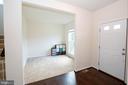 office or formal livingroom - 112 REGENTS LN, STAFFORD