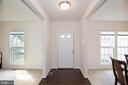 Elegant front entrance - 112 REGENTS LN, STAFFORD