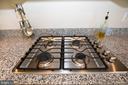 Gas cook top - 112 REGENTS LN, STAFFORD