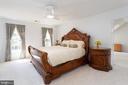 Master Bedroom - Plush Carpeting - 8308 ARMETALE LN, FAIRFAX STATION