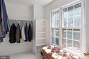 Master Bedroom Walk-in Closet - 8308 ARMETALE LN, FAIRFAX STATION