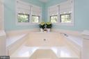 Master Bathroom Raised Corner Tub - 8308 ARMETALE LN, FAIRFAX STATION