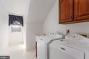 Laundry Room in Upper Level - 8308 ARMETALE LN, FAIRFAX STATION