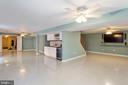 Recreation Room - Huge, Open & Spacious - 8308 ARMETALE LN, FAIRFAX STATION