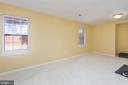 Bedroom 7/Exercise Room - full window & closet - 8308 ARMETALE LN, FAIRFAX STATION