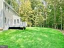 Level Backyard with Seasonal Waterview - 21 ACCOKEEK VIEW LN, STAFFORD