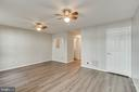 Basement FR with new  waterproof vinyl flooring! - 4990 MARSHLAKE LN, DUMFRIES