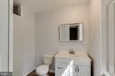 Basement half bath! - 4990 MARSHLAKE LN, DUMFRIES
