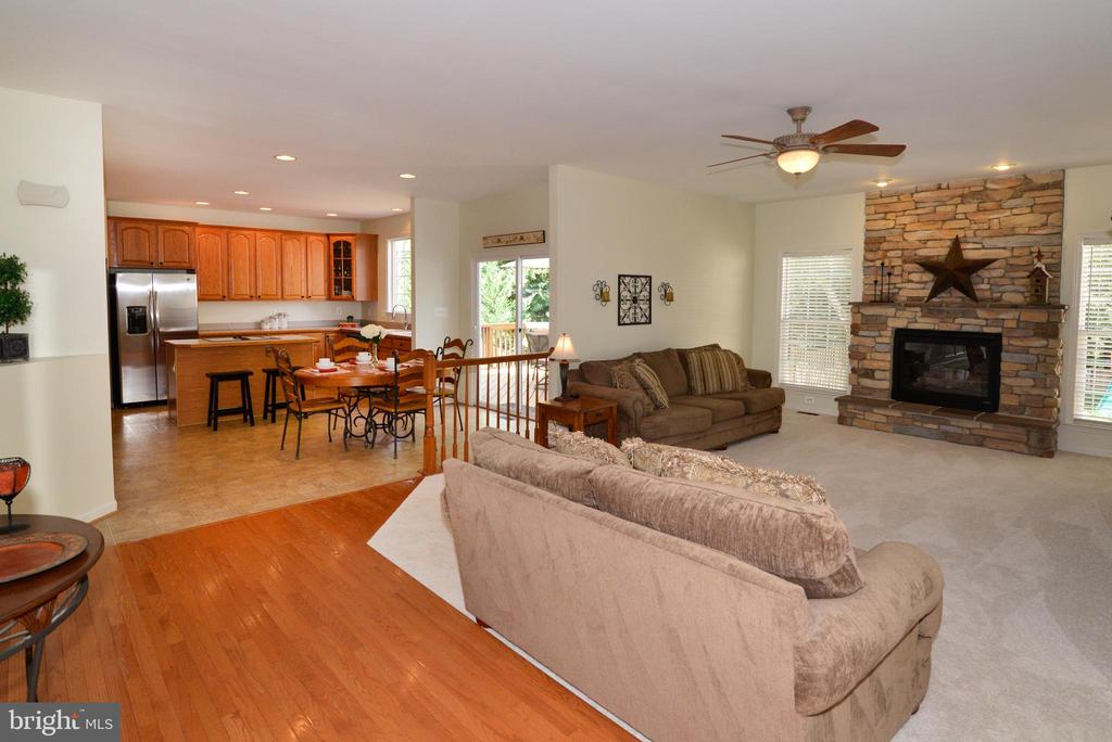 Open Floor Plan - 245 E SKYLINE DR, PURCELLVILLE