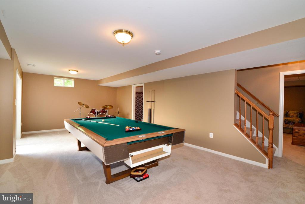 Nice Size Recreation Room - 245 E SKYLINE DR, PURCELLVILLE