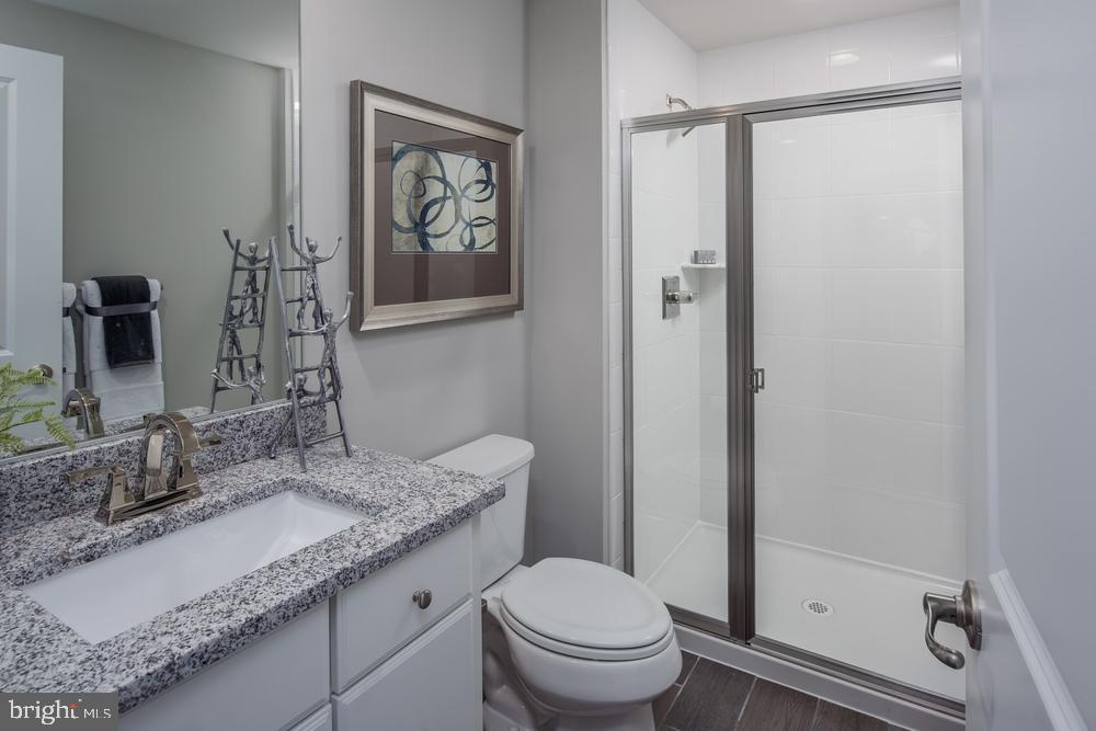 Lower Level Bath - 6208 NIGHTFIRE CT, NEW MARKET