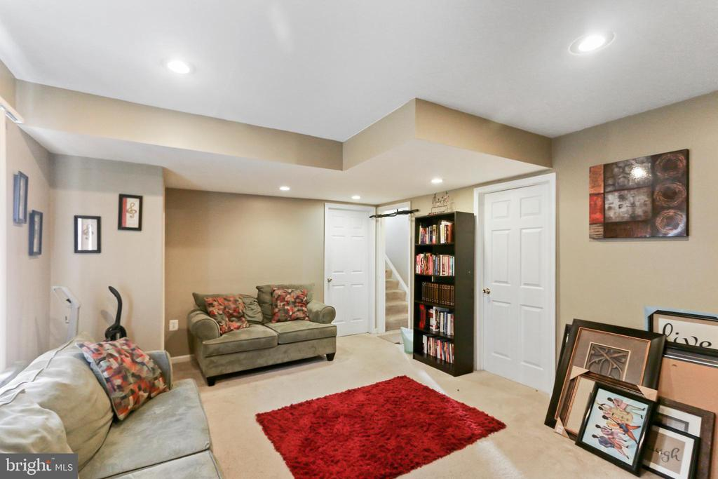 Lower Level Recreation Room - 8 ONTELL CT, STAFFORD