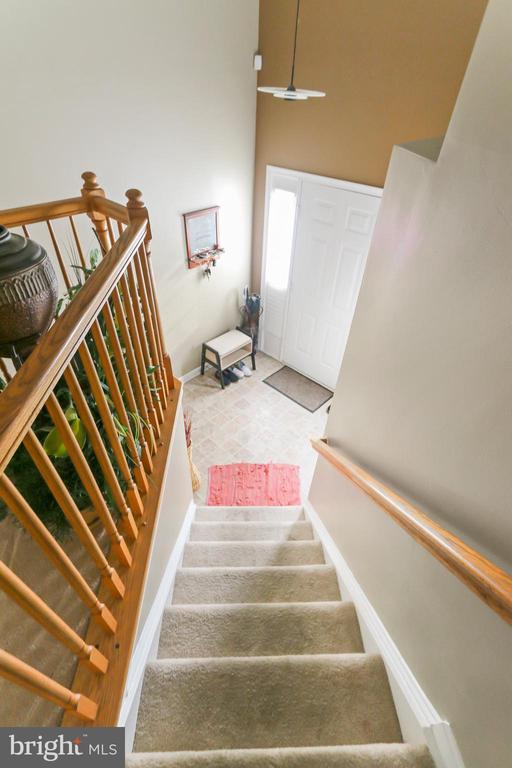 View toward foyer - 8 ONTELL CT, STAFFORD