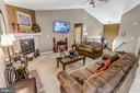 Detailed look at the Family Room - 8 ONTELL CT, STAFFORD