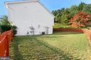 Fenced Backyard and Side yard - 8 ONTELL CT, STAFFORD