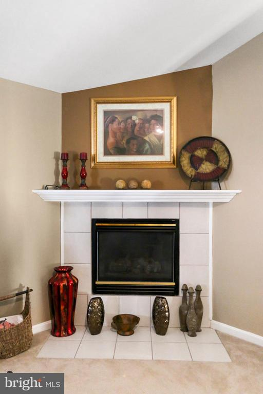 Gas Fireplace in Corner of great rom - 8 ONTELL CT, STAFFORD