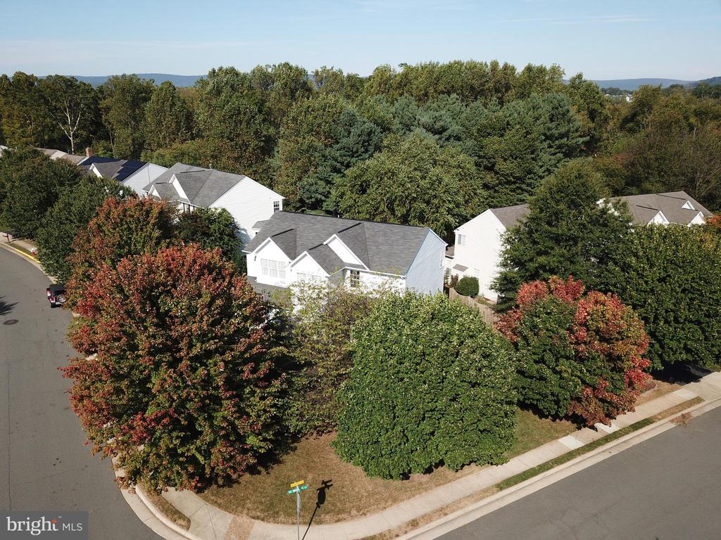 Aerial View - 245 E SKYLINE DR, PURCELLVILLE