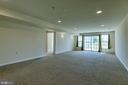Basement is finished with large rec. room - 220 LONG POINT DR, FREDERICKSBURG