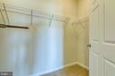 Plenty of space in walk in closet - 220 LONG POINT DR, FREDERICKSBURG