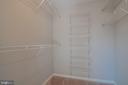Shelving in Closet - 3968 HARTLAKE ST, WOODBRIDGE